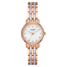 Kate Spade New York KSW1265 White Mother of Pearl Dial Dual Tone Stainless Steel Strap [KSW1265]
