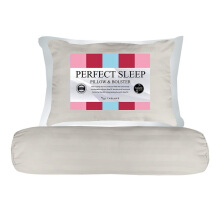 THE LUXE Perfect Sleep Pillow Bolster - Sand