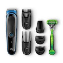 Braun Multi Grooming Kit MGK3040 (7-in-1 Beard/Hair Trimmer for Men Plus Gillette Body Razor)