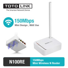 TOTOLINK - Router Wireless N Mini 150Mbps - N100RE