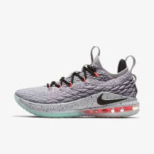 LeBron XV Low EP[AO1756-005]-Grey