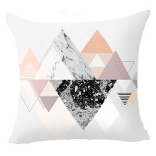 Farfi Geometric Pattern Zippered Pillow Case