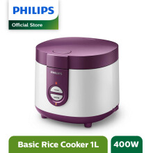 PHILIPS Rice Cooker 1L HD3116/30 - Ungu