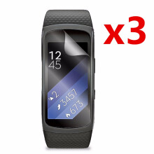 Blitzwolf 3x Anti-Scratch Clear Thin Screen Protector Shield  For Samsung Gear Fit 2 Pro   -  -