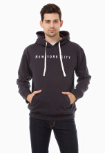 COTTONOLOGY Men's Hoodie NewYork Navy