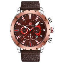 Quartz watches Men's Watch MINIFOCUS Men Watch Luxury 30M Waterproof Quartz Watch Man Sports Wrist Watch Coffee