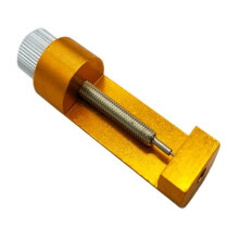 Full Metal Watch Band Strap Adjuster Bracelet Link Pin Remover Repair Tool Kit Gold Color