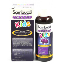 Sambucol Cold & Flu Liquid 120ml - Kids (Australia Version)