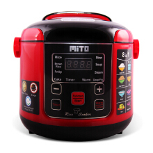 MITO Digital Rice Cooker 1 L R1  - Red