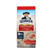 QUAKER Instant Oatmeal Small Pack 200g