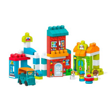 MEGA BLOKS Main Street Friends Playset FFG36