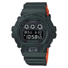 Casio G-Shock DW-6900LU-3DR Digital Dial Green Resin Strap [DW-6900LU-3DR]