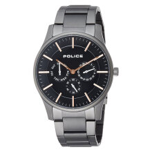 Police Courtesy PL.14701JSU/13M Men Black Dial Stainless Steel Watch [PL.14701JSU/13M]