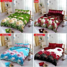 Kintakun D'Luxe BED COVER Set Flower Edition Uk. 180x200 - Larissa