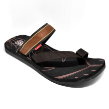 Carvil Sandal Pria Cornetto-M Black/Brown