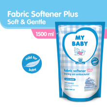 MY BABY Fabric Softener Plus Ironing Aid Soft & Gentle - 1500ml