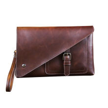SiYing Import original Retro style PU leather men's clutch bag casual men's bag