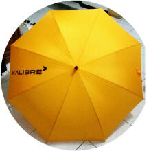 Kalibre Payung Besar Kuning Umbrella Diameter 130 Cm Hujan Waterproof Anti Air Anti UV 995276999 Yellow XL