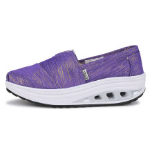 Zanzea Women Canvas Outdoor Sport Casual Flat Rocker Sole Shoes
