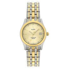 Alba AXT852X1 Ladies Gold Dial Dual Tone Stainless Steel [AXT852X1]