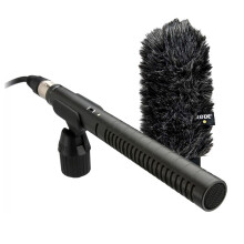 [free ongkir]Rode NTG2 Microphone with Deluxe Windshield - Original