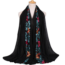 LAVEN Pastoral Wind Embroidered Women's Scarf