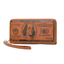 SiYing personality creative long three-dimensional craft men's wallet / clutch