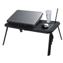 Toko Kado Unik - Universal E-Table Meja Laptop Portable - Hitam