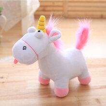 [COZIME] Lovely Unicorn Soft Stuffed Plush Doll Toy Horse Kids Toy Birthday Gift Pink1