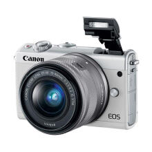 Canon EOS M100 Kit EF-M 15-45mm IS STM + EF-M 22mm (White)
