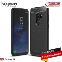 Keymao Samsung Galaxy S9 case Soft TPU Silicon Full Protect Cover Case Black