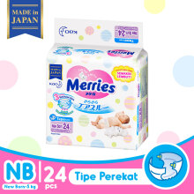 MERRIES Premium Popok Tape NB - 24