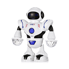 Famirosa  Kids Electronic Smart Space Dancing Robot with Music LED Light - Multi