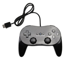 COZIME Classic Game Controller With Grip Joypad Gamepad For Nintendo Wii Console White