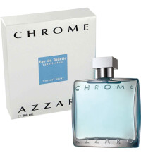 Azzaro Chrome for Man EDT Parfum Pria [100 mL]