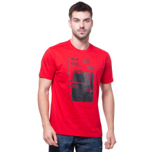 PARADIGMA Kaos Pria Get Inspired [80101023] - Red