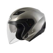 ZEUS ZS-611 - Helm Full Face - Dark Silver