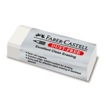 FABER-CASTELL 187120 Eraser Dust Free 7120 Big White