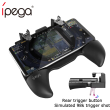 iPega PG 9117 Gamepad swith controller for FPS Pubg Extendable Game Grip L1RL Trigger Button Fire Key for iPhone Android IOS pc PG-9117