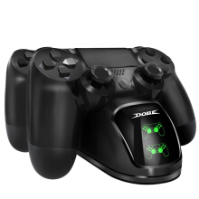 Aosen Dual USB Charging Dock for PS4 Shock Controller Charger Docking Station