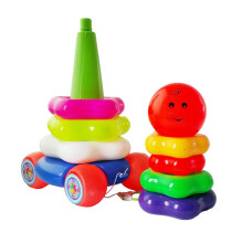 Bless Toys Mainan Anak Ring Donat Smile Full Color - OCT515 Multicolor