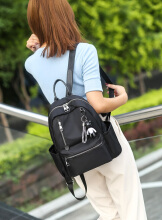 MWS Woman Backpack Polyester 2252 Black