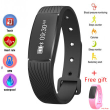 NAVIFORCE ID107 Original high quality Heart Rate Monitor Pedometer Waterproof Sport Smart band Standby for 20 days