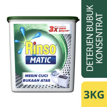RINSO Matic Top Load 3Kg