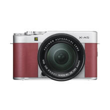 FUJIFILM X-A5 Kit 15-45mm f/3.5-5.6 OIS PZ (Pink) + Instax Share SP2 + SDHC 16GB Brown