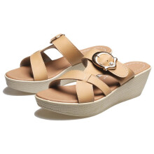 SANDAL HIGH HEELS / WEDGES KASUAL WANITA - BDN 916