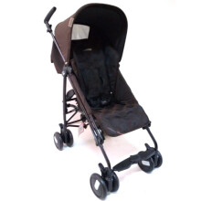 Peg Perego Pliko Mini Stroller - Pois Brown