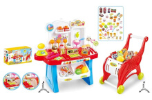 MAINAN EDUKASI ANAK MINI MARKET PLAY SET 2IN1