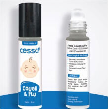 Cessa No More Cough & Flu - Essential Oil Pereda Batuk & Pilek Anak - 8ml Blue