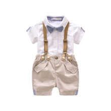 Toddler Boys Clothing Set Summer Baby Casual Party Costume Suit Shorts Shirt